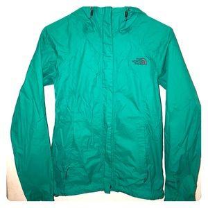 XS the north face rain jacket